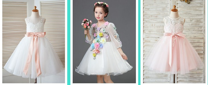 new flower girl dress