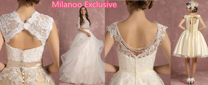 Milanoo Exclusive Wedding Dress
