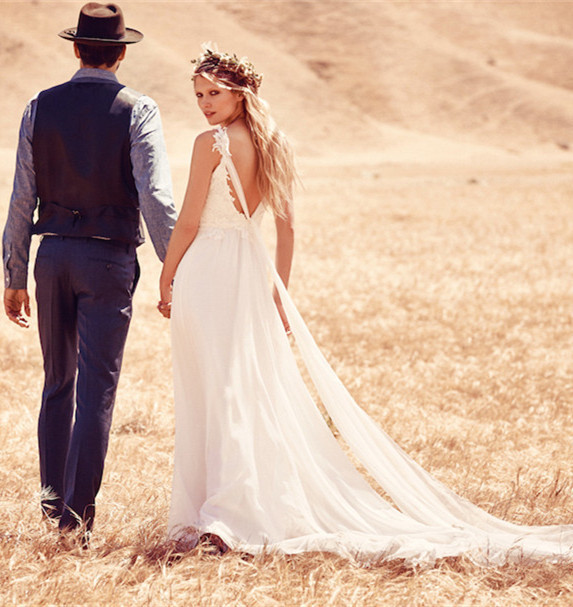Why Boho wedding dress for an outdoor wedding? - Milanoo Blog