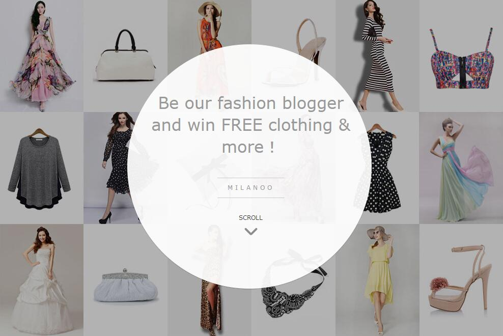 Milanoo Fashion Blogger Program
