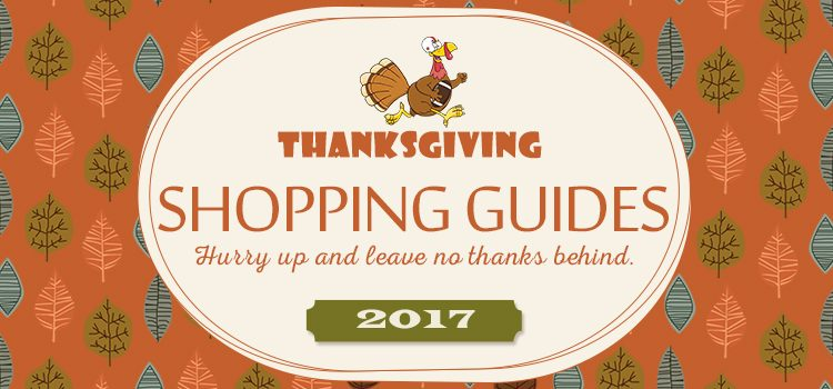 Thanksgiving Shopping Guides
