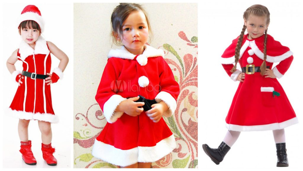 Cute Santa skirts for girls