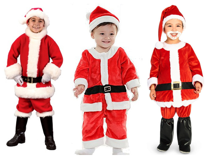 Santa costumes for boys