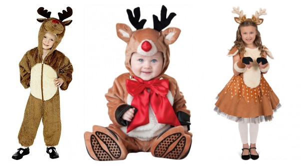 christmas reindeer costumes for children