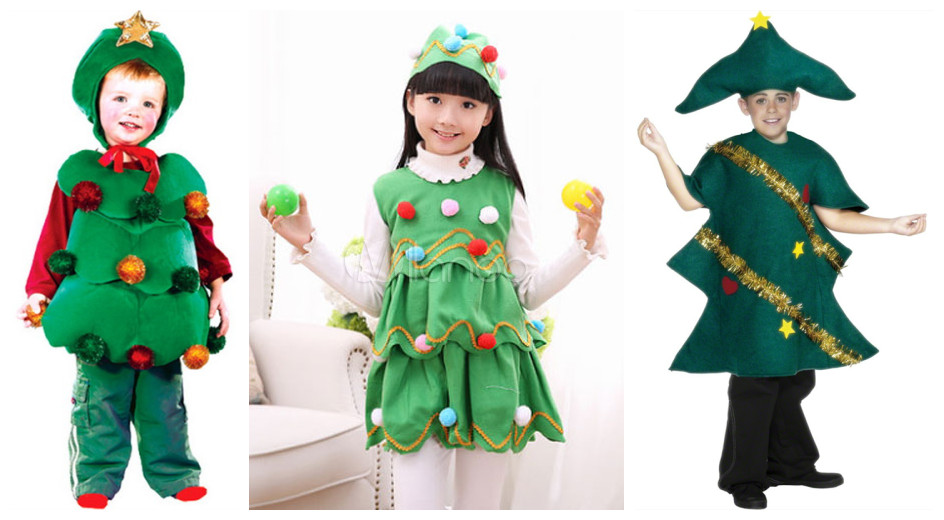 christmas tree costumes for kids