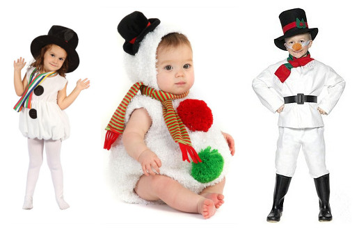 christmas snowman costume for kids