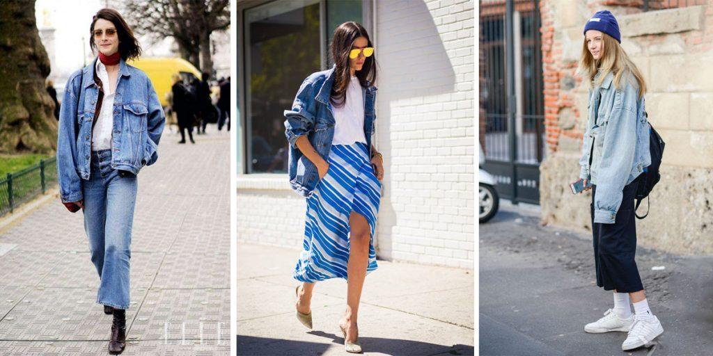 fashion denim coat in 2018 spring