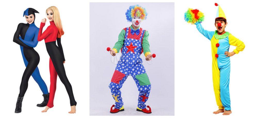 Clown-Kleidung