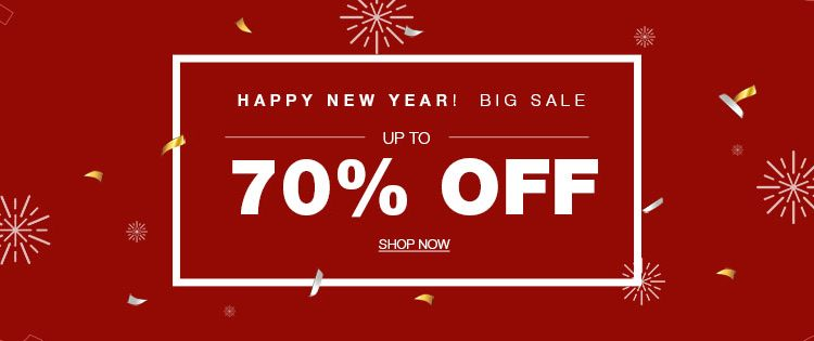 happy new year sales