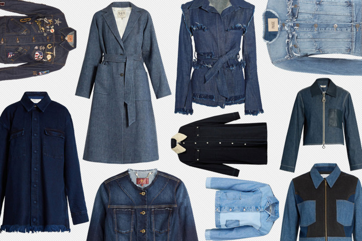 denim jackets and denim coats