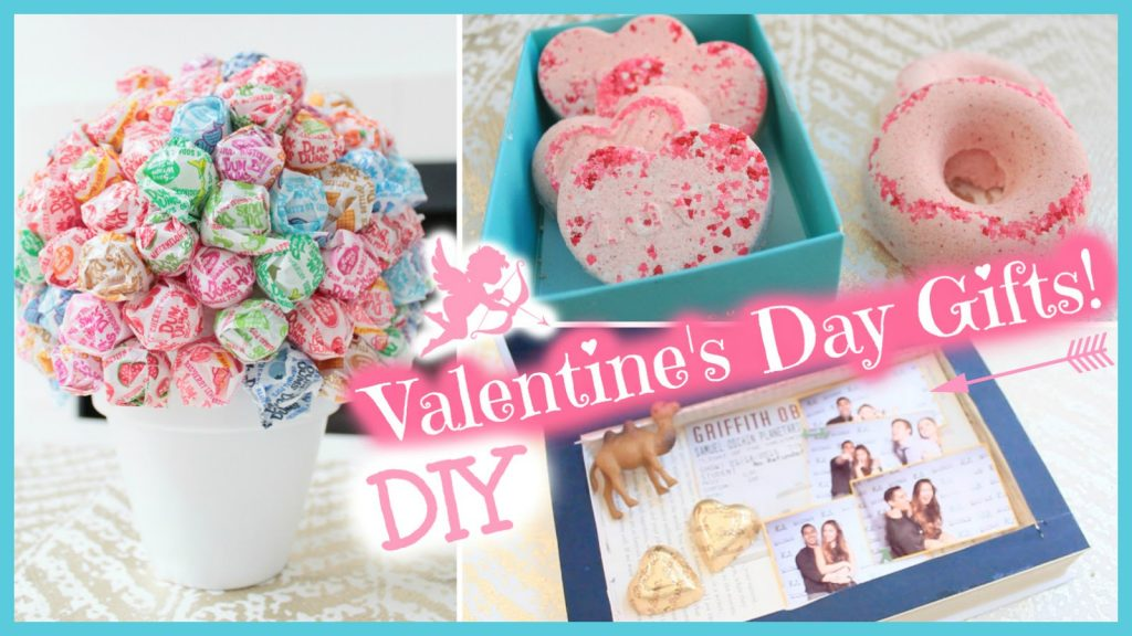 Valentine's Day DIY gifts for her