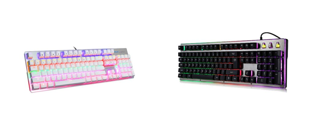 2018 valentines' day gifts multicolor keyboard
