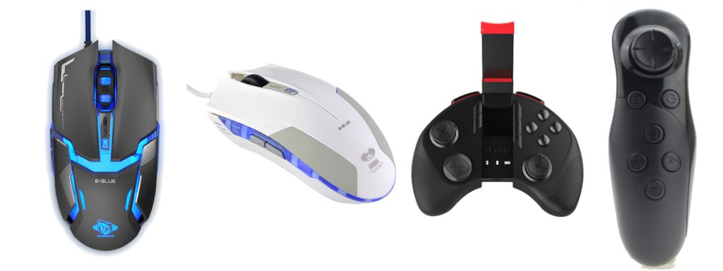 2018 valentines' day gifts multicolor mouse and gamepad