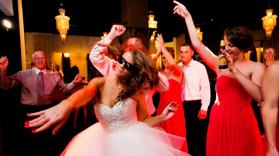 short wedding dress dancing party