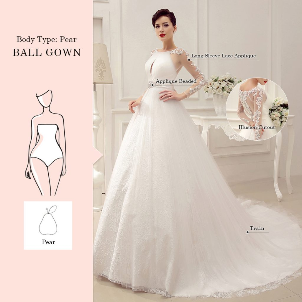 Find A Perfect Wedding Dress for Your Body Type - Milanoo Blog