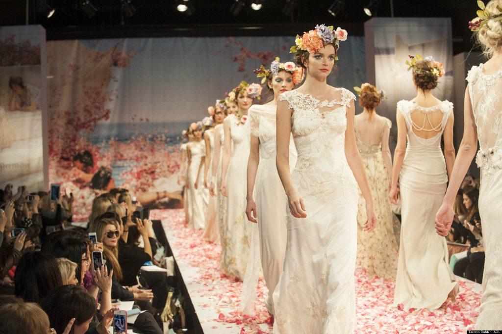 bridal dress fashion show