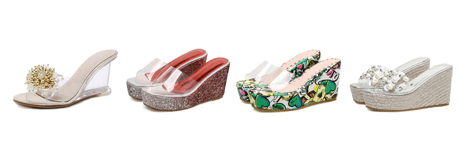 wedge sandals & slippers