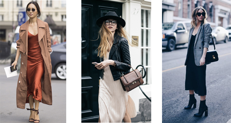 slip dresses with jackets
